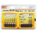 8 pc Combo Drill Tap set