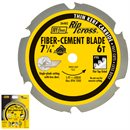 "7-1/4"" 6 Teeth Carbide Fiber-Cement Blade"