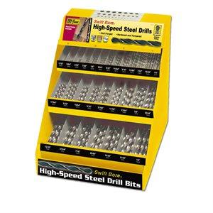 Swift Bore HSS Drill Bit Display - Bulk